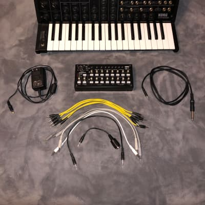Korg MS-20 Mini  Synthesizer w/ SQ-1 Sequencer