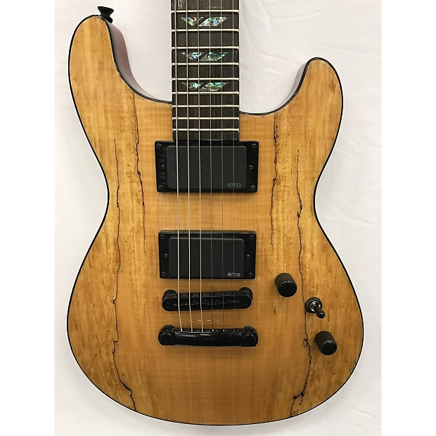 fernandes dragonfly spalted maple natural xyz guitars reverb. Black Bedroom Furniture Sets. Home Design Ideas