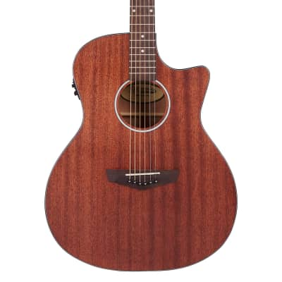 D'Angelico Premier Gramercy LS Grand Auditorium Electro Acoustic in Natural Mahogany Satin for sale