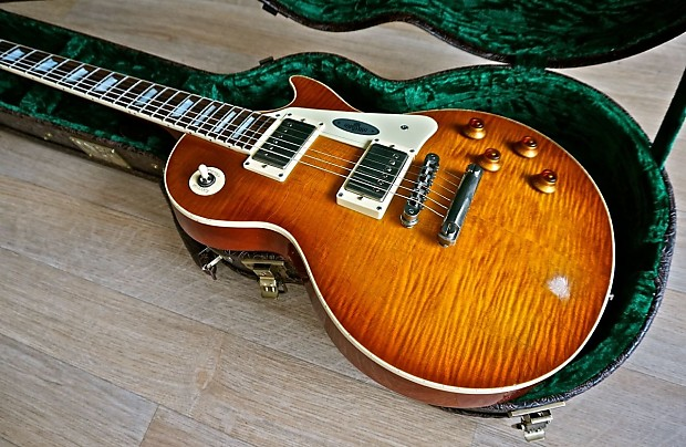 maybach lester 59' midnight sunset aged (gibson les paul | reverb
