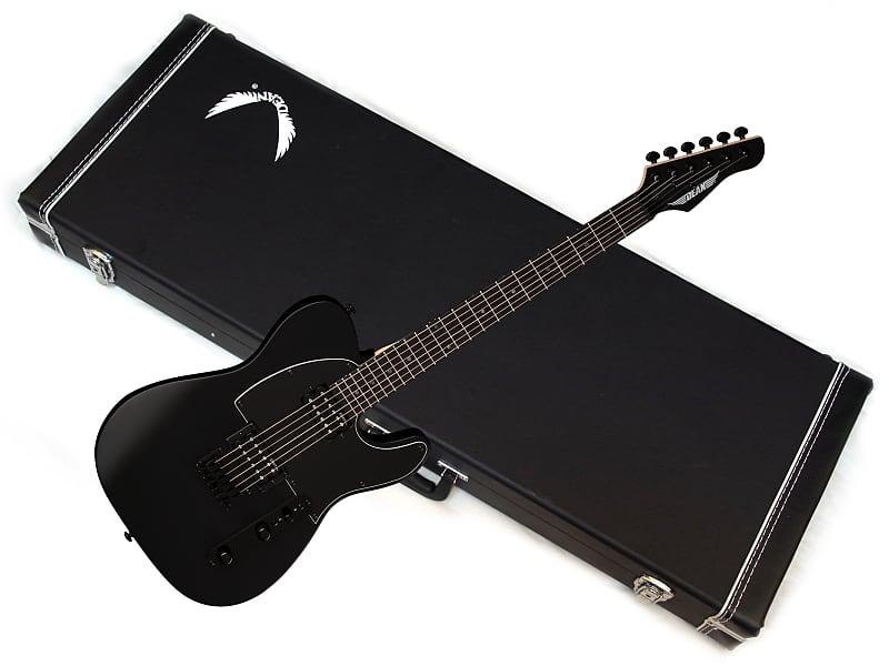 dean nashvegas electric guitar new black satin w hard case reverb. Black Bedroom Furniture Sets. Home Design Ideas