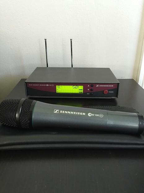Sennheiser ew100 g2 handheld microphone manual meat