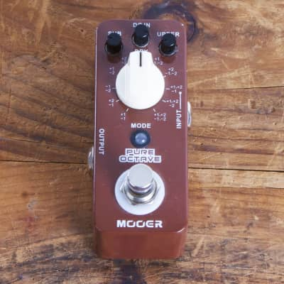 Mooer Pure Octave True Bypass Octave Pedal