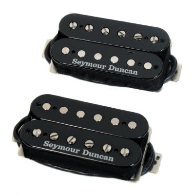 Seymour Duncan 11108-49-B Pearly Gates Set Guitar Pickup Neck and Bridge - Black