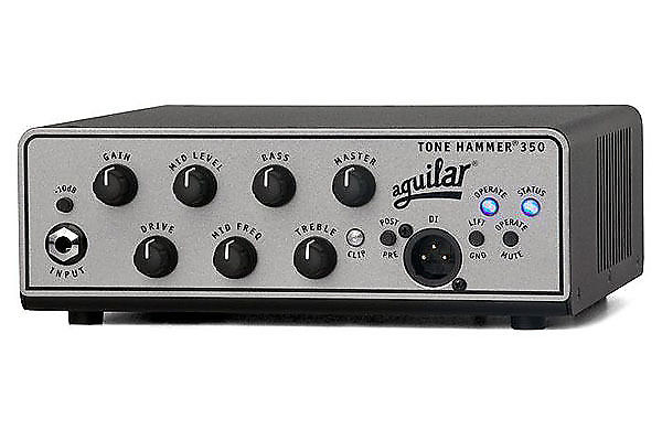 aguilar th350 bass amplifier tone hammer 350 watt amp head reverb. Black Bedroom Furniture Sets. Home Design Ideas