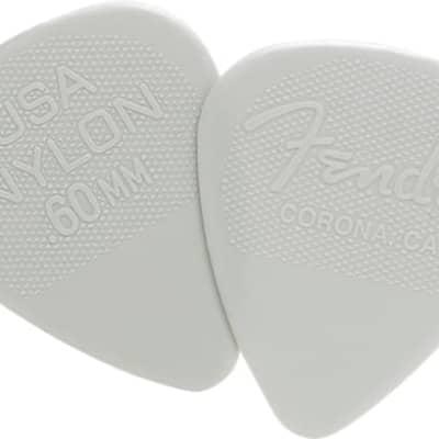 Fender Fender Nylon Pick .60 12 Pk for sale