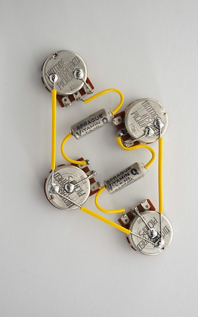 les paul 50s wiring harness  | 1280 x 960