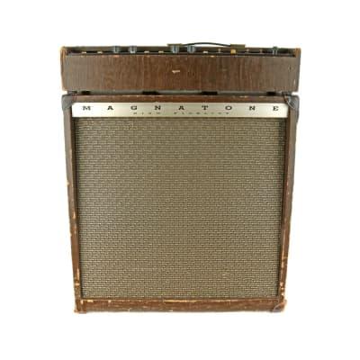 Magnatone Estey Custom 435 2-Channel 55-Watt 4x10 Bass / Guitar Piggyback