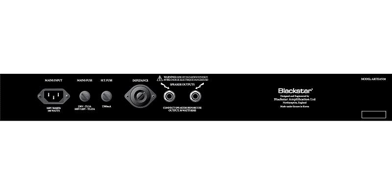 blackstar artisan series 30 30w 2x12 tube guitar combo reverb. Black Bedroom Furniture Sets. Home Design Ideas