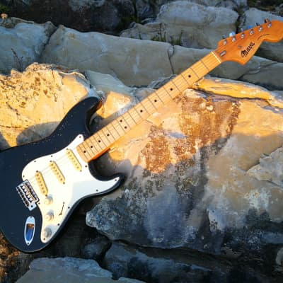 Maya  Stratocaster 1975 Black for sale