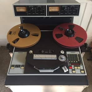 "Ampex ATR-102 1/2"" 2-Track Tape Machine"