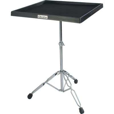 Gibraltar 7615 7600 Series Percussion Traps Table with Stand