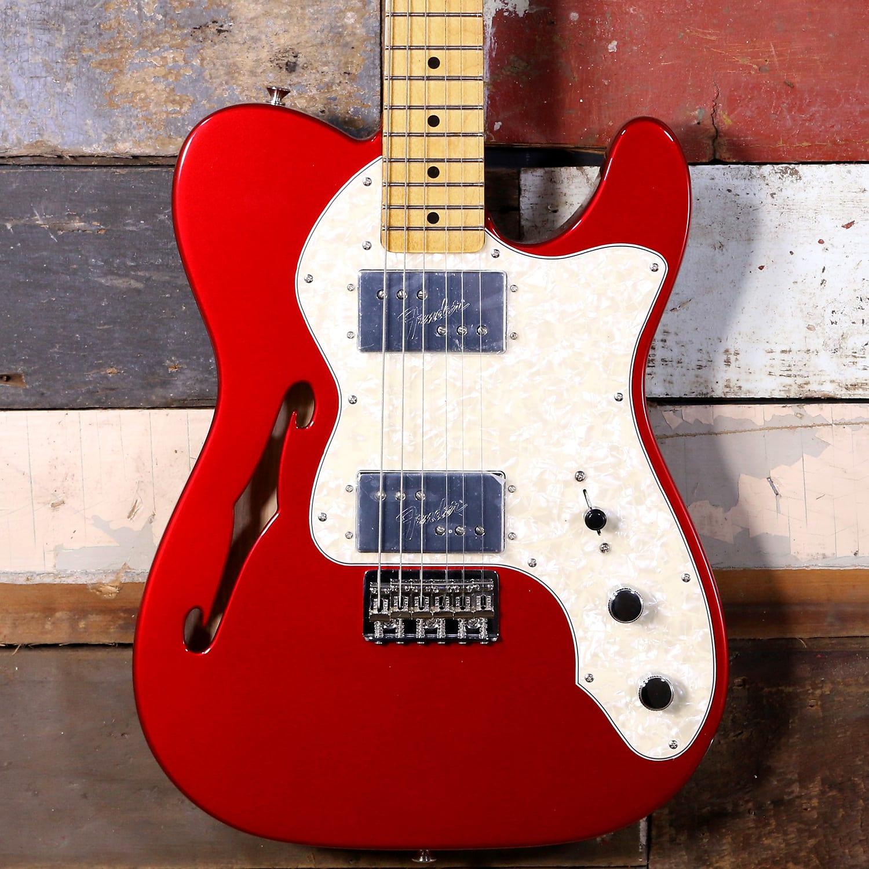 Fender Vintera '70s Telecaster Thinline Candy Apple Red