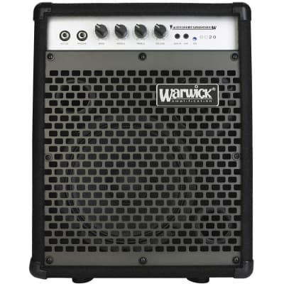 Warwick BC 20 bass guitar amp combo for sale