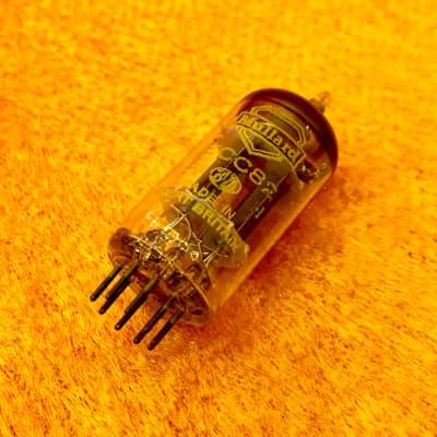 Mullard Ecc82 12au7 preamplifier valve c 1960 Bva original vintage UK Vox marshall