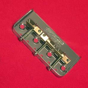 Guitar Parts WILKINSON WTBS Bridge - HALF TELE 1/2 Telecaster - Brass Saddle - CHROME