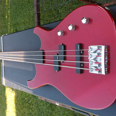 Larrivee Fretless 4-String Bass with Hard Shell Case for sale