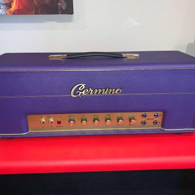 Germino Lead 55 LV Master Volume Purple Tolex 2020 for sale