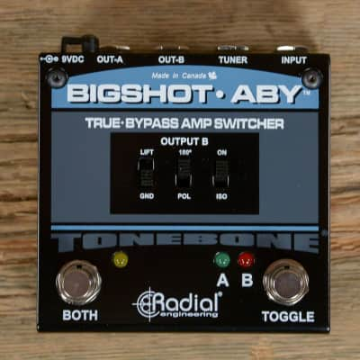 Radial Big Shot ABY Amplifier Switcher V2 MINT