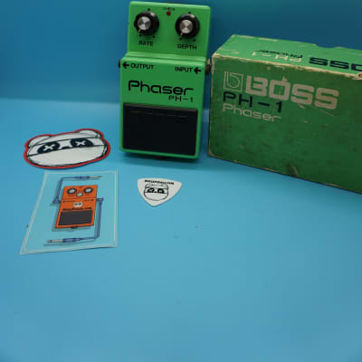 Boss PH-1 Phaser w/Original Box | Rare (Black Label) Silver Screw | Made in Japan | Fast Shipping!