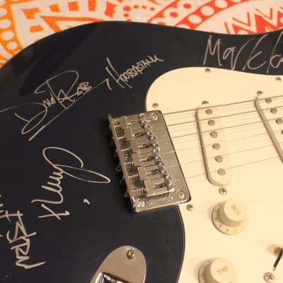 Hoobastank Autographed Fender Squier Bullet Stratocaster SSS (2000s)