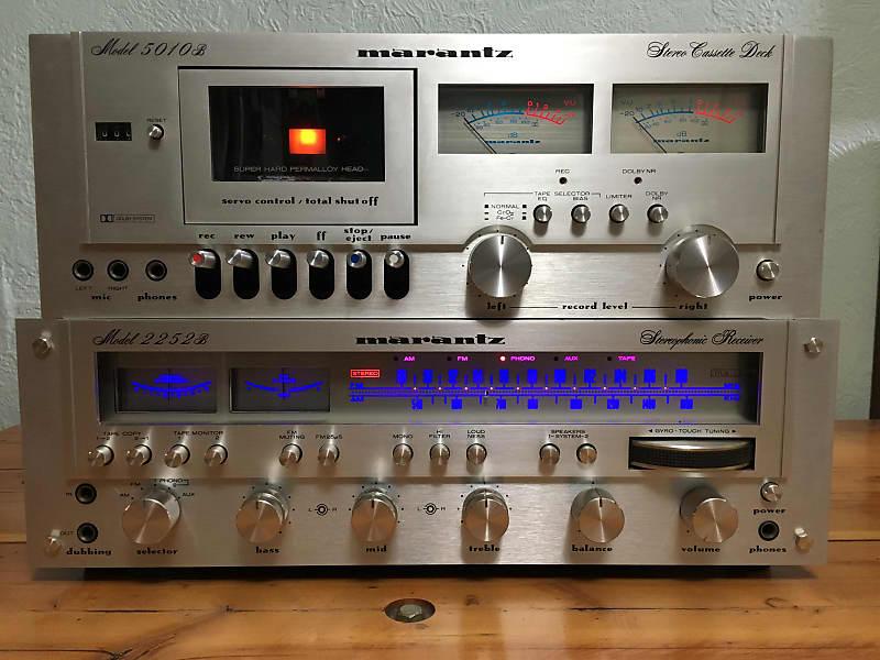 Near Mint Marantz 5010B Cassette Deck Vintage Tape Player Audiophile Hi-Fi  Stereo FREE Shipping!