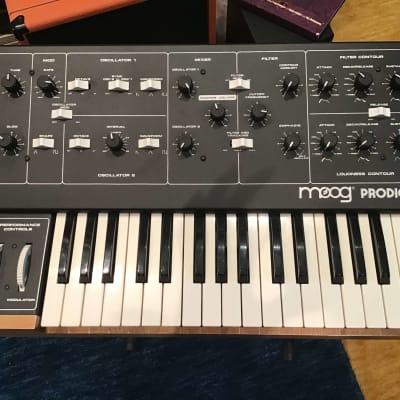 Moog Prodigy model 3368X  with flight case