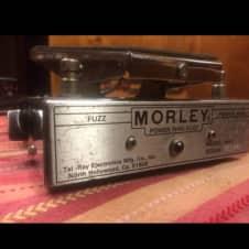 Morley  Power Wah Fuzz 1970s Chrome