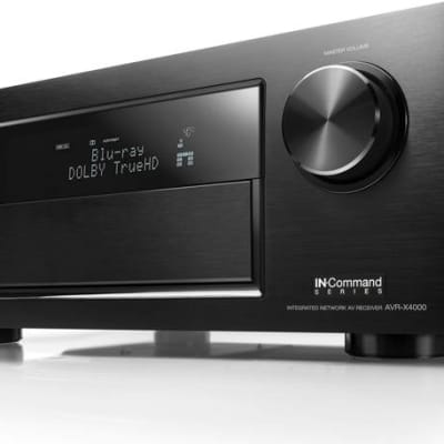 Denon  AVR-X4000 7.2 Channel 4K Network Receiver with Apple AirPlay and Remote