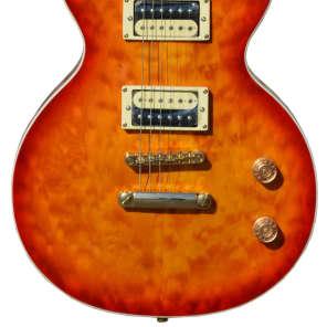 Fishbone Sunburst Les Paul 2013 Sunburst Spalted Maple Top Make an Offer