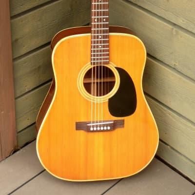 1973 JUMBO J-25 by Tahara Gakki  Hand Made Guitar Japan Vintage for sale