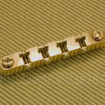 006-0120-100 Gretsch 4-String Bass Adjust-0-matic Bridge Gold Broadcaster Others