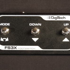 DigiTech FS3X 3-BUTTON FOOT SWITCH for sale