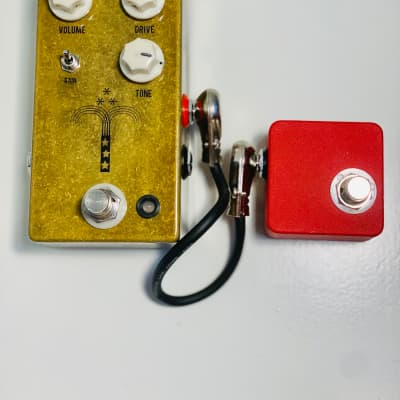 JHS Morning Glory V4 Overdrive Pedal Plus Red Remote