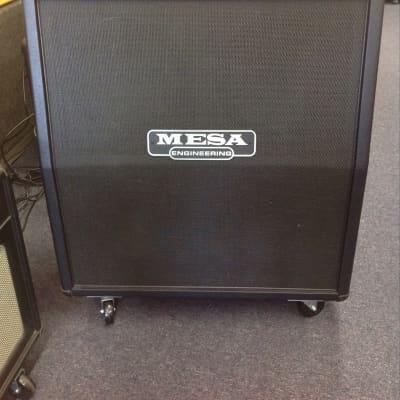 Mesa Boogie  Mesa Boogie 4*12 Rectifier Standard Slant guitar cabinet 2016 Black for sale
