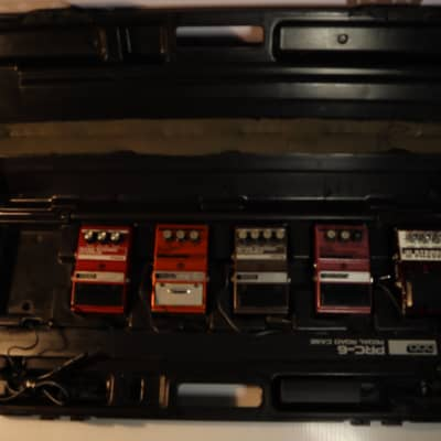 DOD PRC-6 Pedalboard Case Made in USA, Very RARE. PEDALS NOT INCLUDED for sale