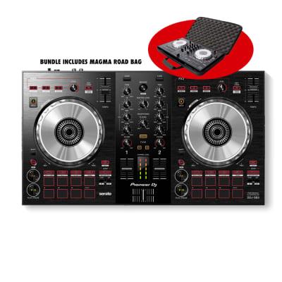 Pioneer DDJ-SB3 Serato DJ Controller with Magma Road Bag