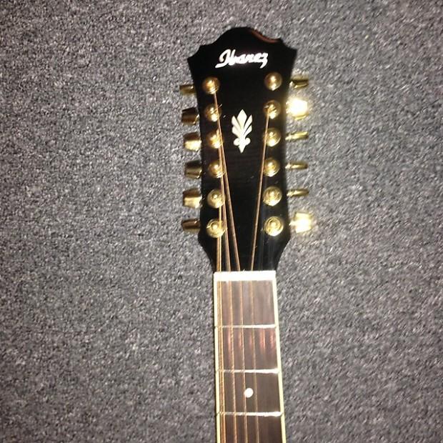 ibanez ael2012etks 12 string acoustic electric guitar 2012 reverb. Black Bedroom Furniture Sets. Home Design Ideas