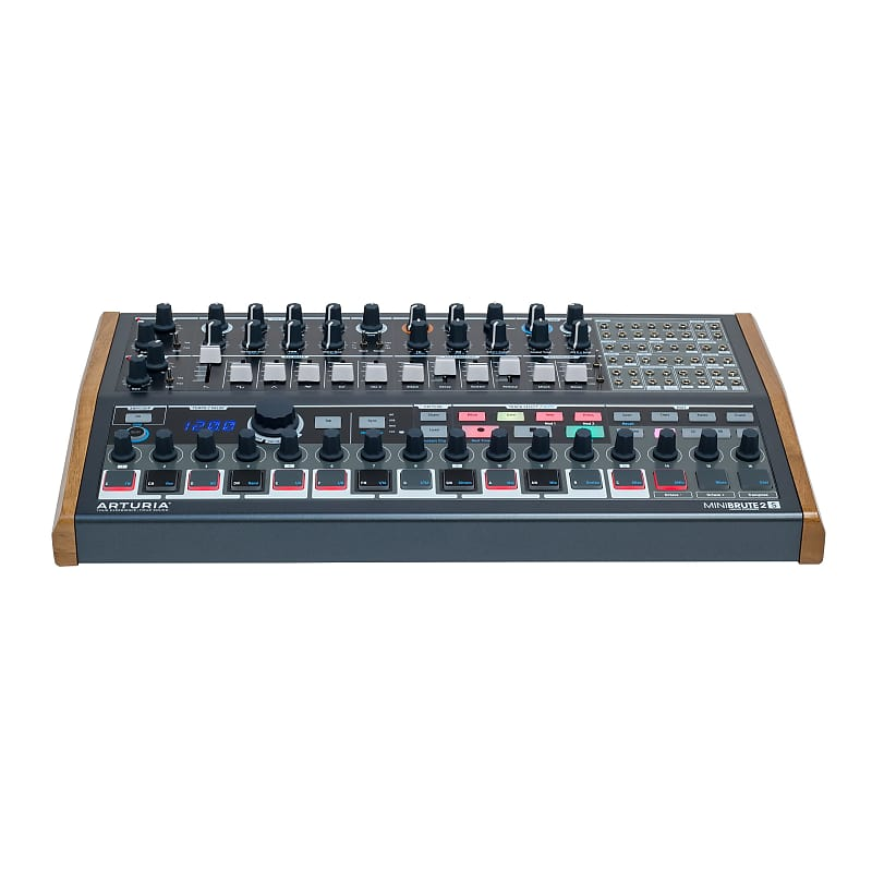 arturia minibrute2s semi modular synthesizer sequencer reverb. Black Bedroom Furniture Sets. Home Design Ideas