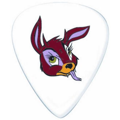 Dunlop BL23R060 Frank Kozik Devil Bunny Tortex .60mm Guitar Picks (36-Pack)