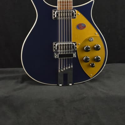 Rickenbacker 660/12 Midnight Blue with Hardshell Case for sale