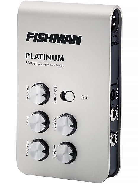 fishman platinum stage analog guitar bass preamp eq di w xlr reverb. Black Bedroom Furniture Sets. Home Design Ideas