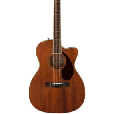 Fender PM-3 All Solid Mahogany 000 Acoustic Guitar With Hardshell Case for sale
