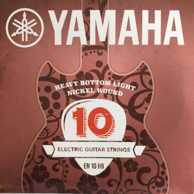 Yamaha Nickel Wound Electric Guitar Strings - EN10HB Heavy Bottom Light 10-52