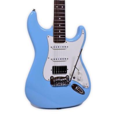 G&L Legacy HB HSS Himalayan Blue Electric Guitar B-Stock w/ Warranty