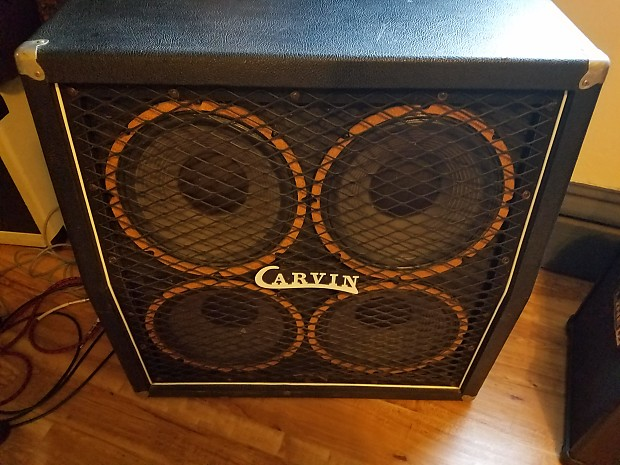 Carvin 4x12 Vintage USA Cabinet Local RI Pickup Only | Reverb