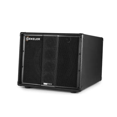 "Genzler Amplification Bass Array 12-3 SLANT 1x12"" Extension Speaker Cabinet, 350-Watt 8-Ohm"