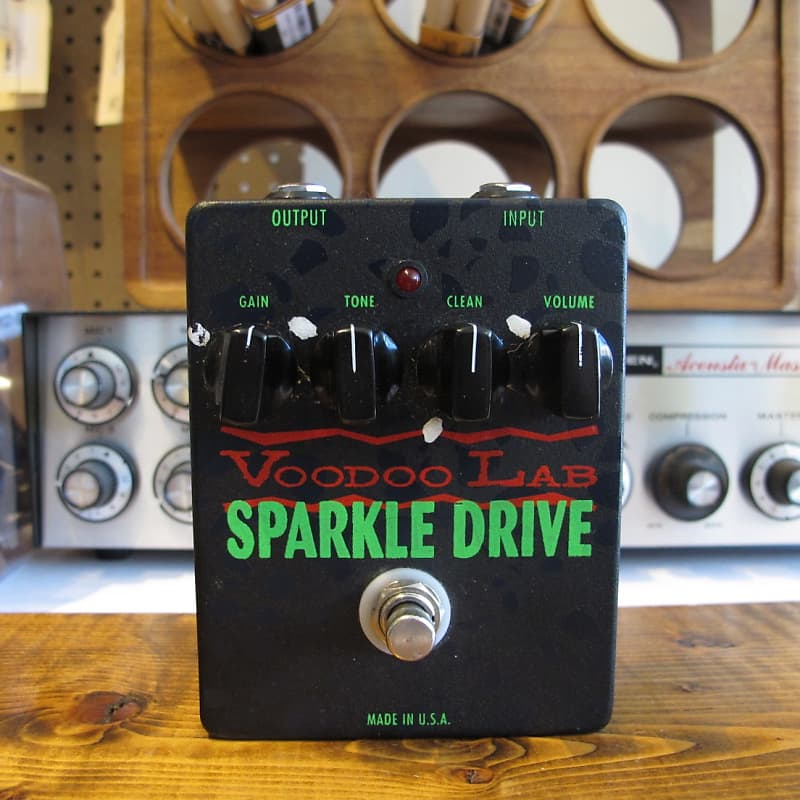 voodoo lab sparkle drive overdrive pedal reverb. Black Bedroom Furniture Sets. Home Design Ideas