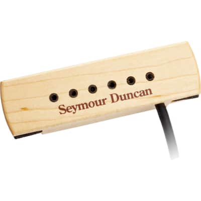 Seymour Duncan 11500-32 Woody XL Adjustable Pole Pieces Soundhole Pickup  2-Day Delivery