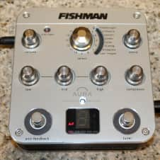 Fishman Aura Spectrum DI Acoustic Imaging pedal with modeling, EQ and compressor